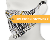Mondmasker bedrukt met eigen logo of ontwerp in full color